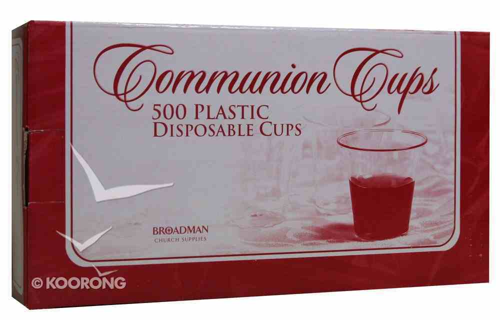 Communion Cups Disposable Recyclable (Box Of 500) Church Supplies