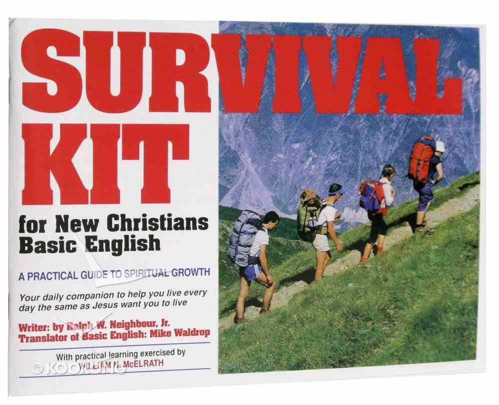 Survival Kit For New Christians (Basic English) Paperback