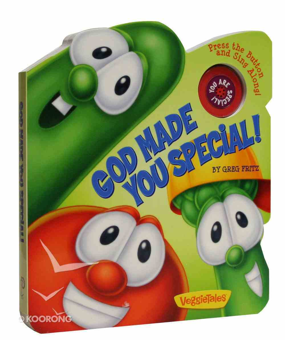 God Made You Special (Veggie Tales (Veggietales) Series) Board Book