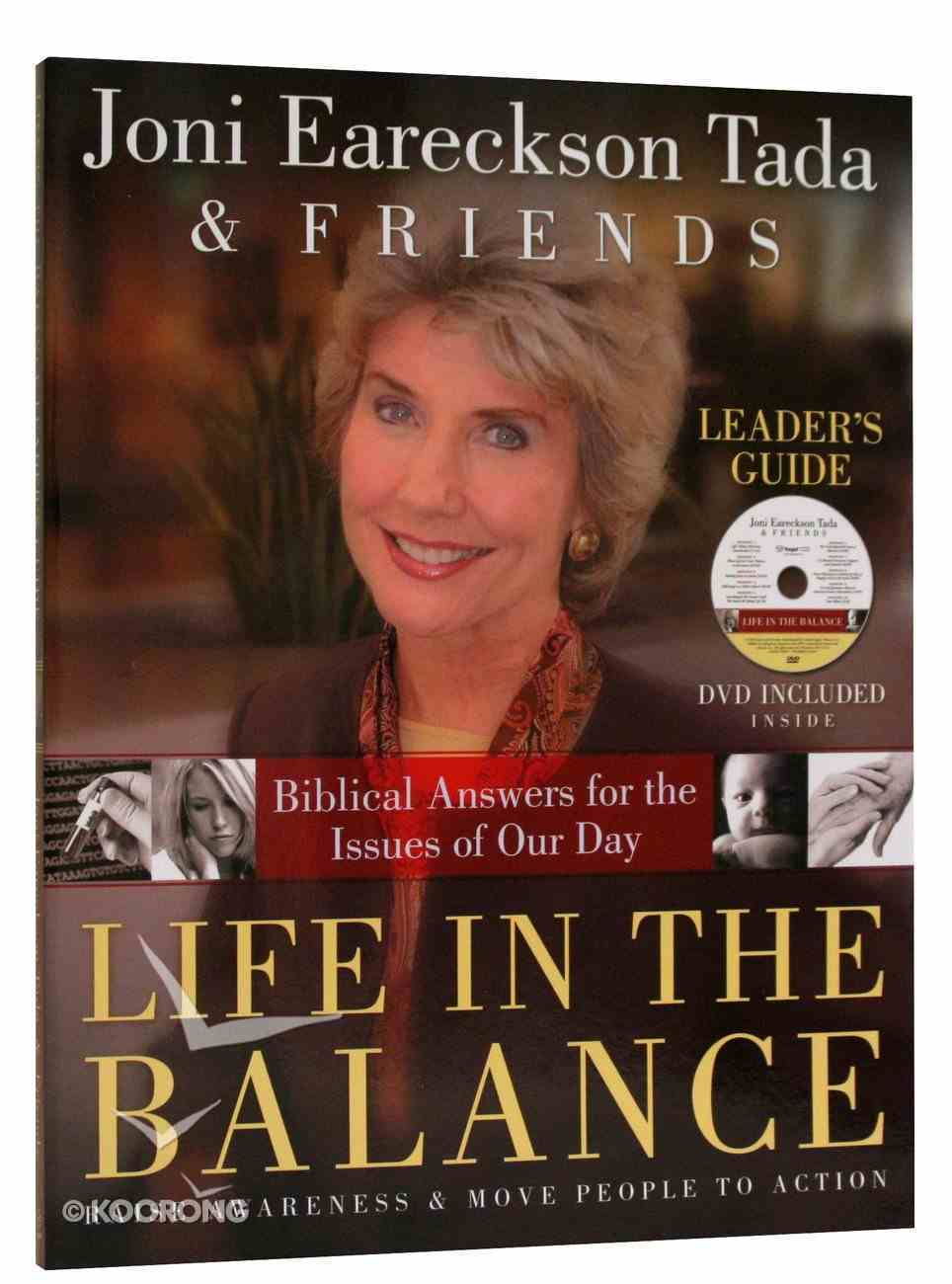 Life in the Balance (Leader's Guide With Dvd) Paperback