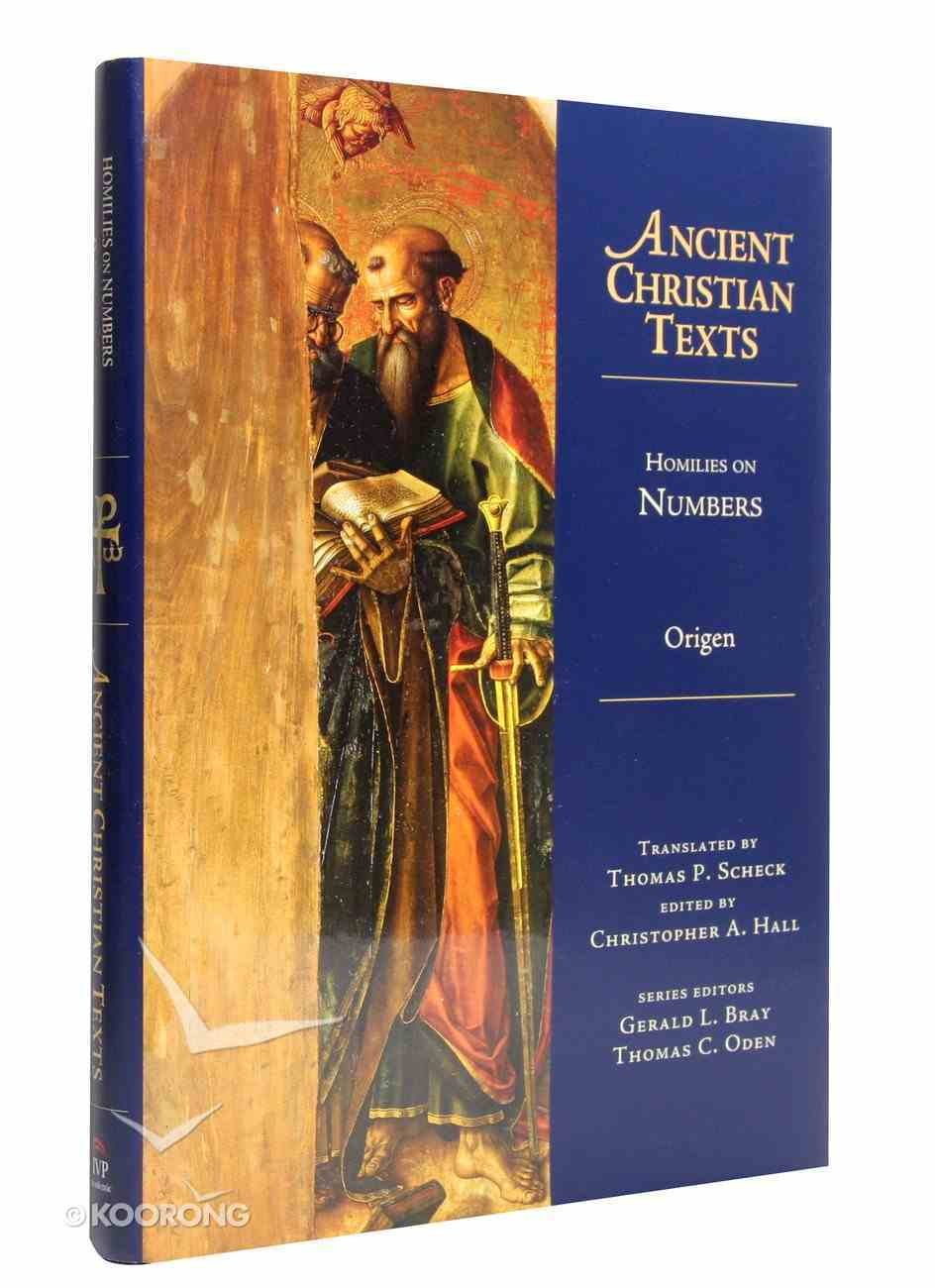 Homilies on Numbers (Ancient Christian Texts Series) Hardback