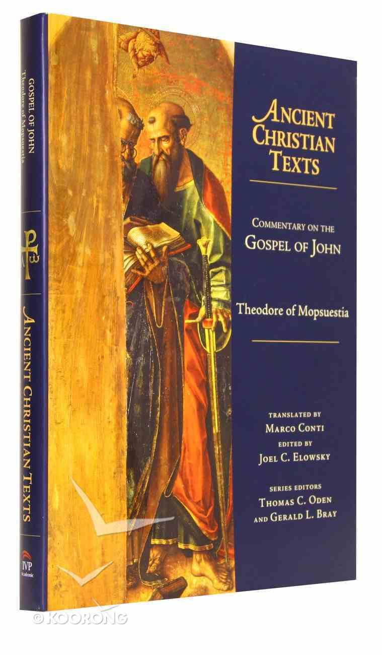 Commentary on Gospel of John (Ancient Christian Texts Series) Hardback