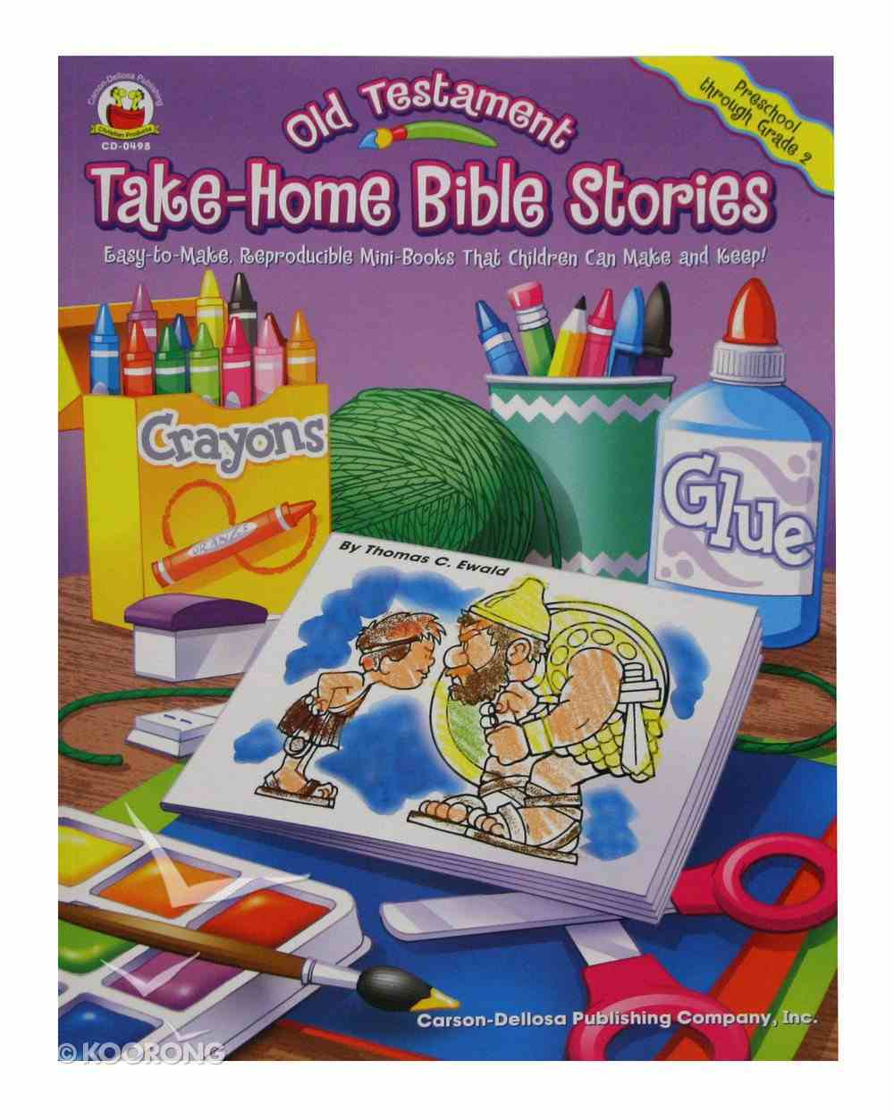 Take-Home Bible Stories: Old Testament Paperback