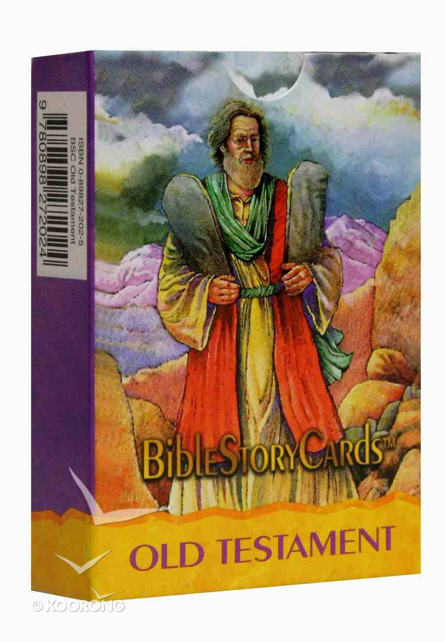 Bible Story Cards Old Testament (50 Cards) Cards