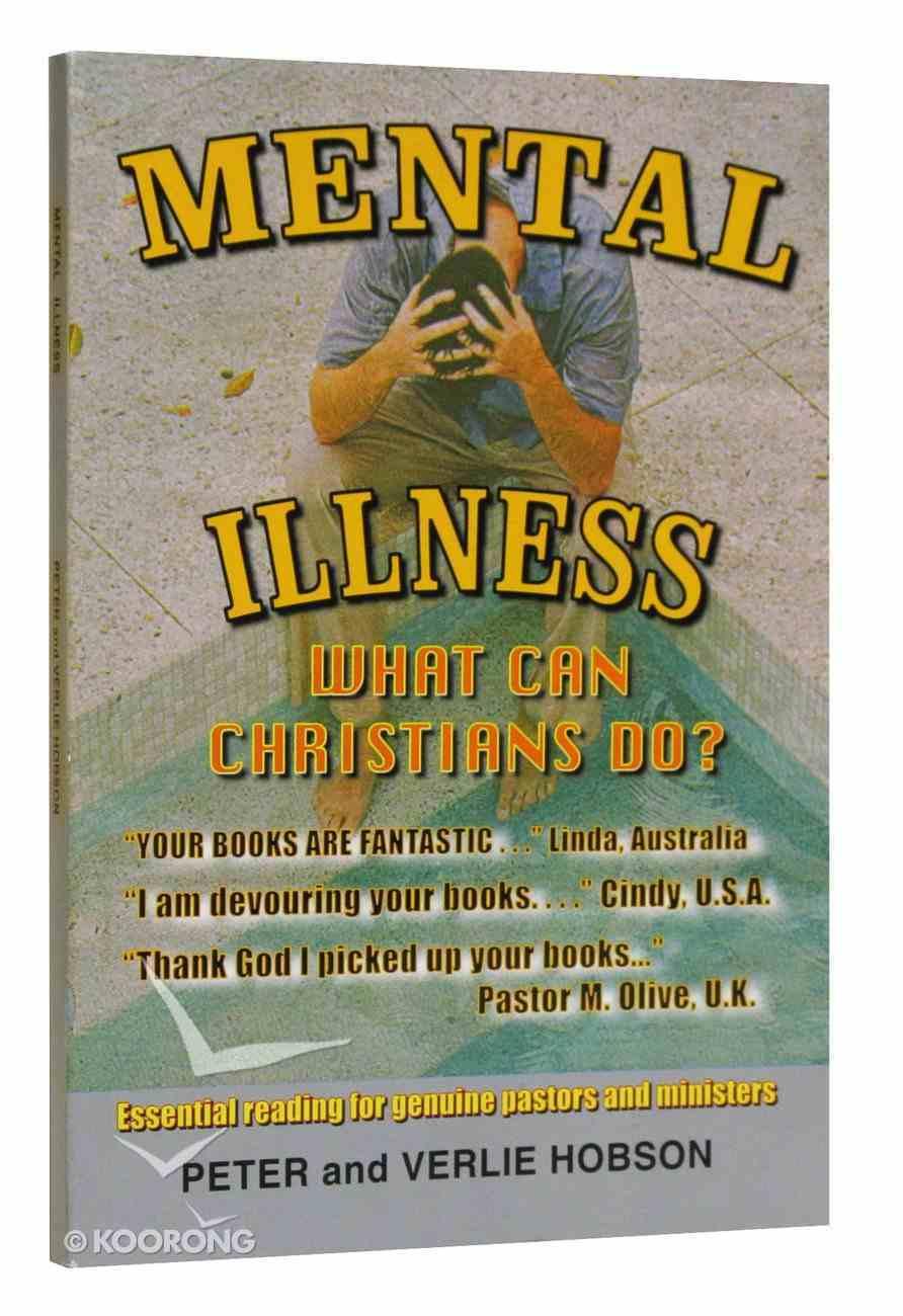 Mental Illness Paperback
