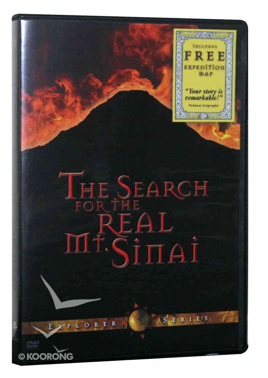The Search For the Real Mt Sinai DVD