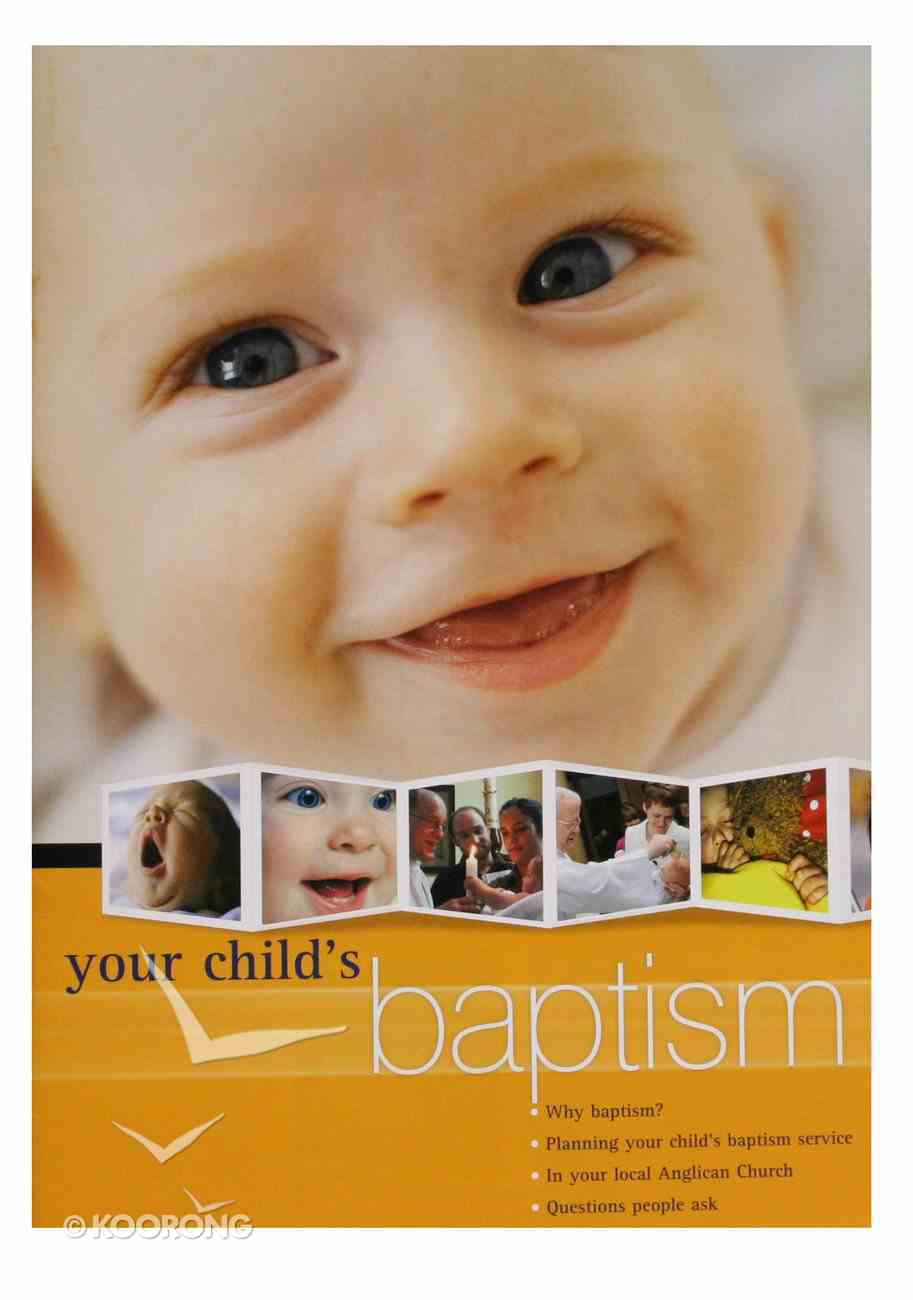 Your Child's Baptism Apba Paperback
