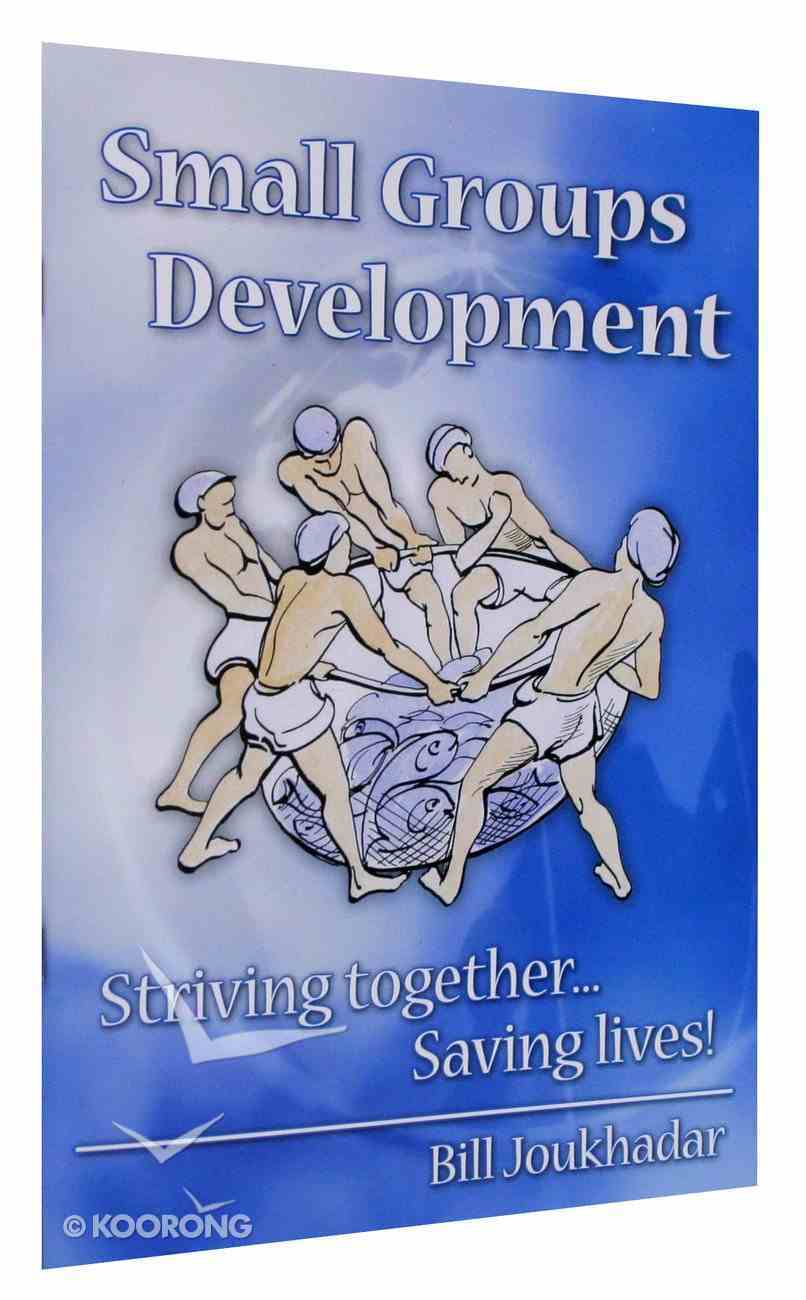 Small Groups Development Manual Paperback
