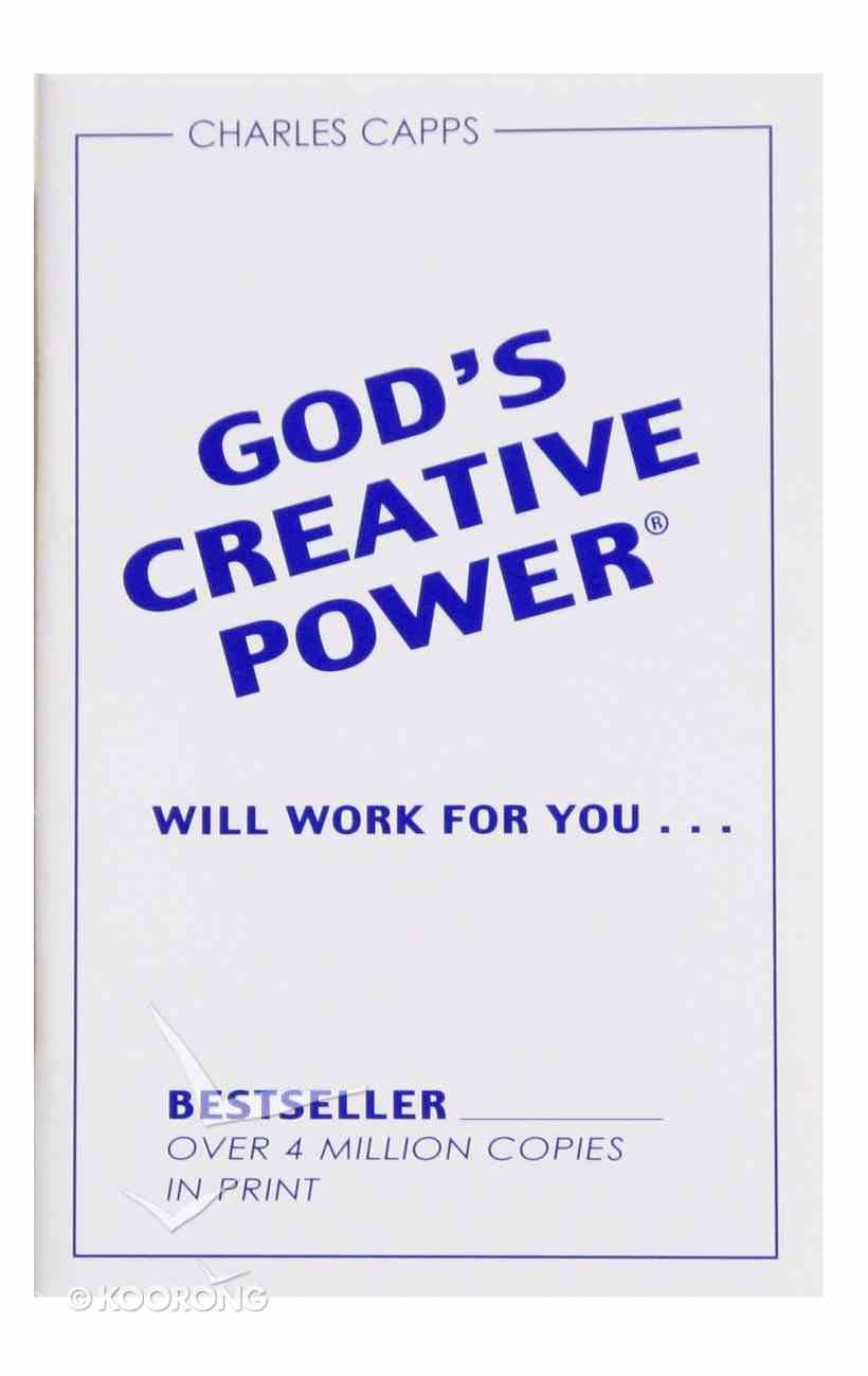 God's Creative Power Will Work For You (Single) Booklet