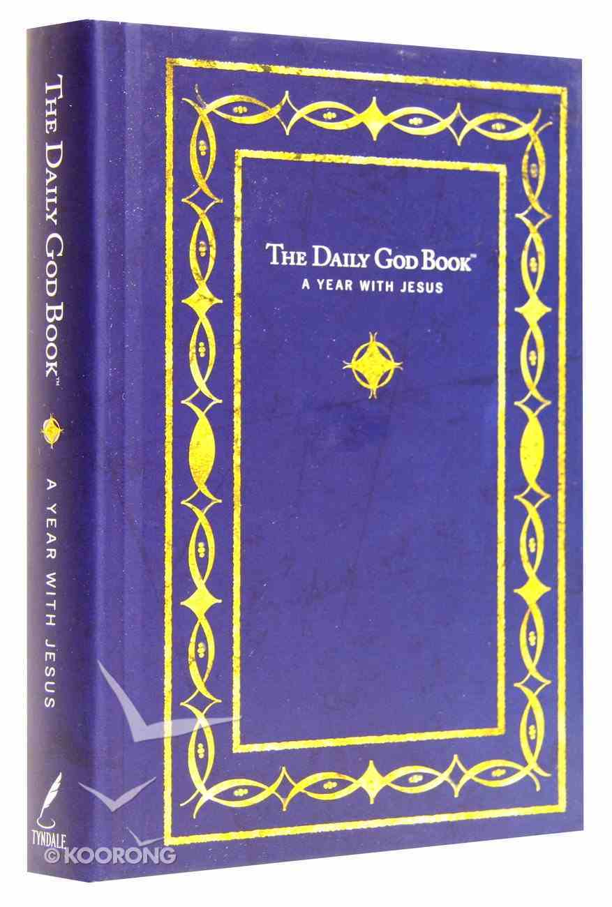 Daily God Book: A Year With Jesus Hardback