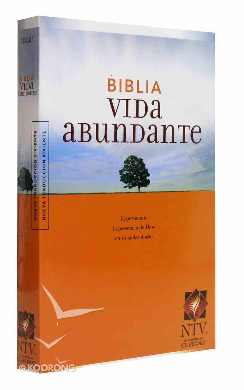 Ntv Biblia Vida Abundante (Black Letter Edition) (Abundant Life Bible) Paperback
