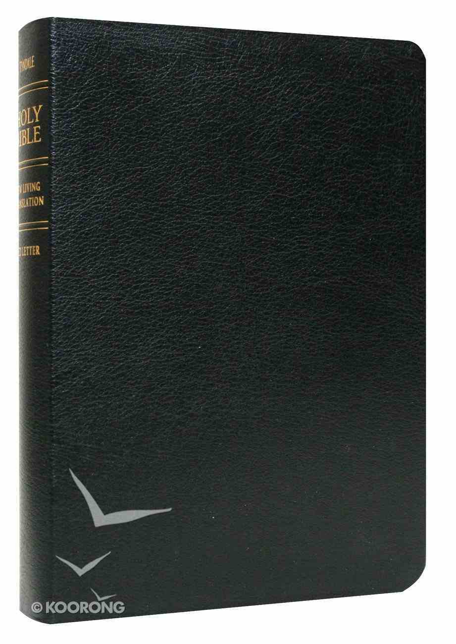 NLT Holy Bible Giant Print Black (Red Letter Edition) Bonded Leather