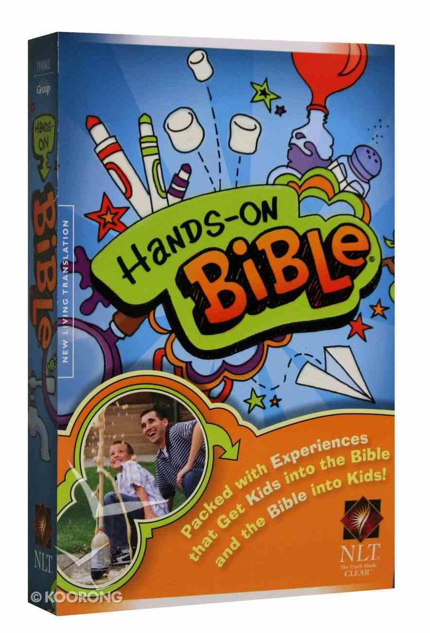 NLT Hands-On Bible (Black Letter Edition) Paperback