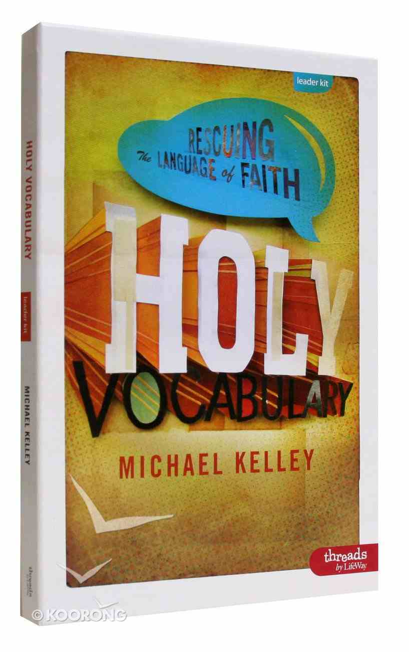 Holy Vocabulary (Leader Kit) Pack