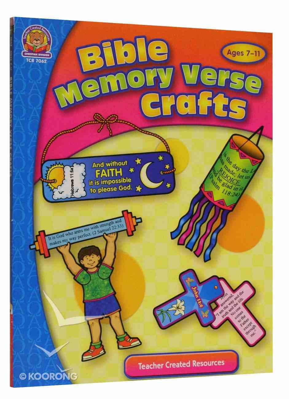 Bible Memory Verse Crafts Paperback