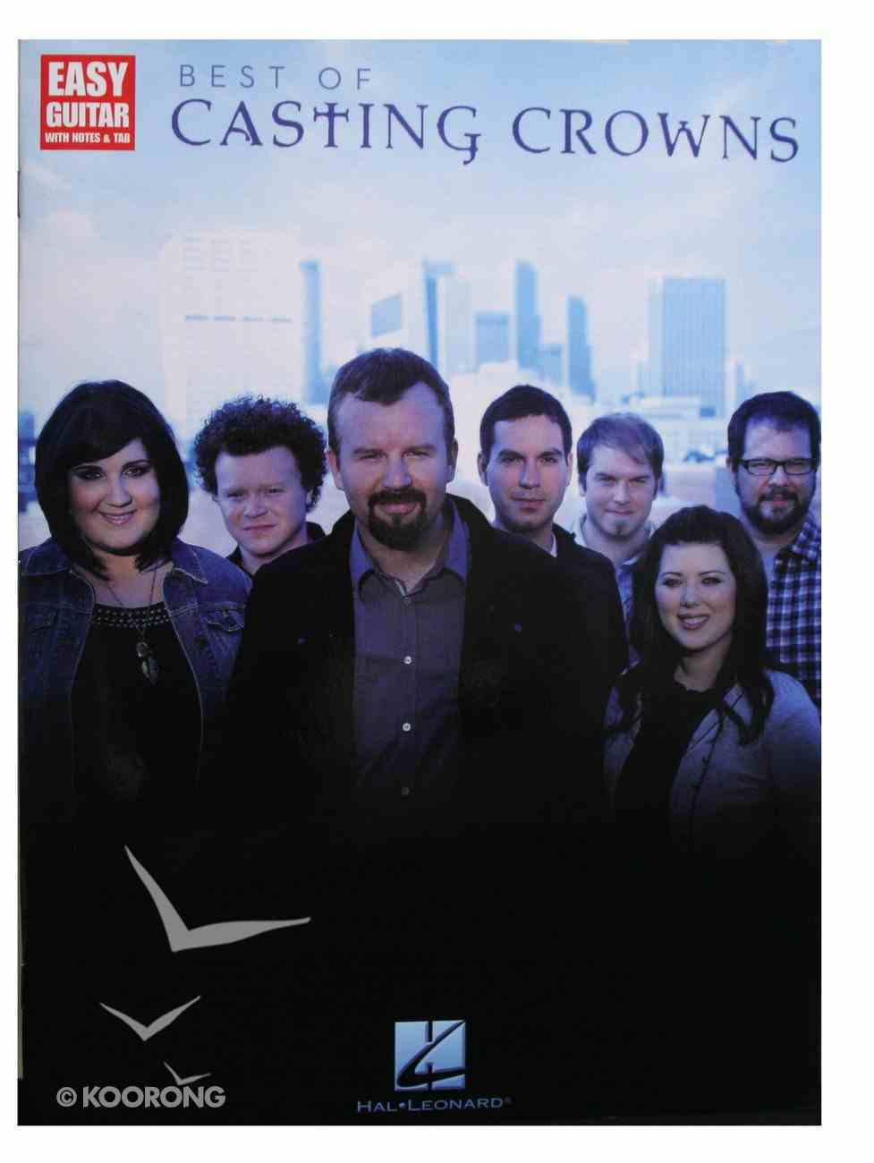Best of Casting Crowns (Music Book) (Easy Guitar) Paperback