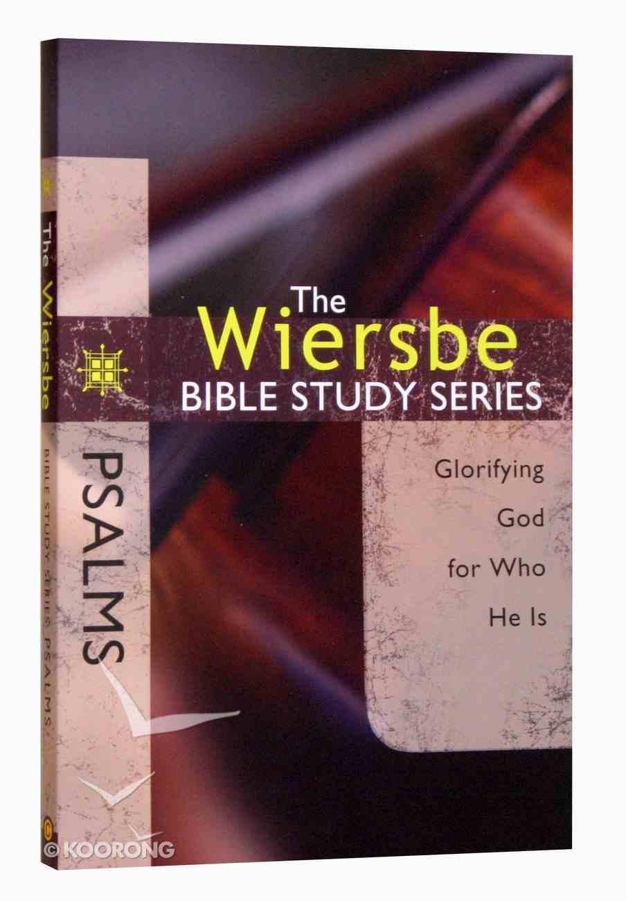 Psalms (Wiersbe Bible Study Series) Paperback
