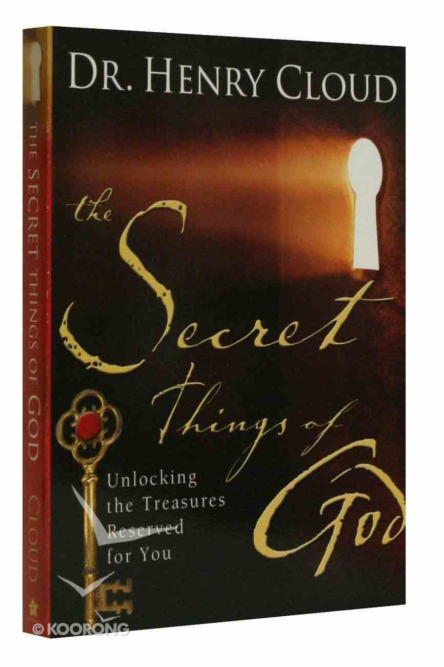 The Secret Things of God Paperback