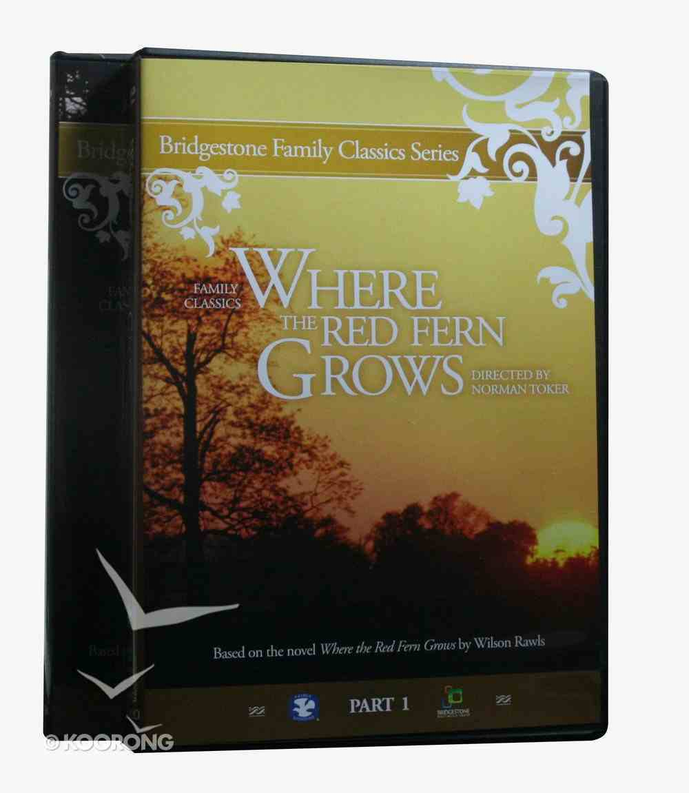 Where the Red Fern Grows Part 1/2 DVD