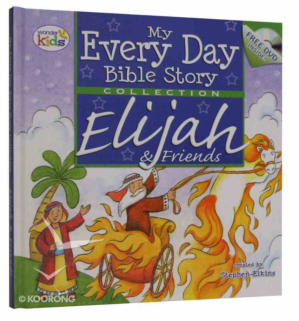 Elijah and Friends With DVD Hardback