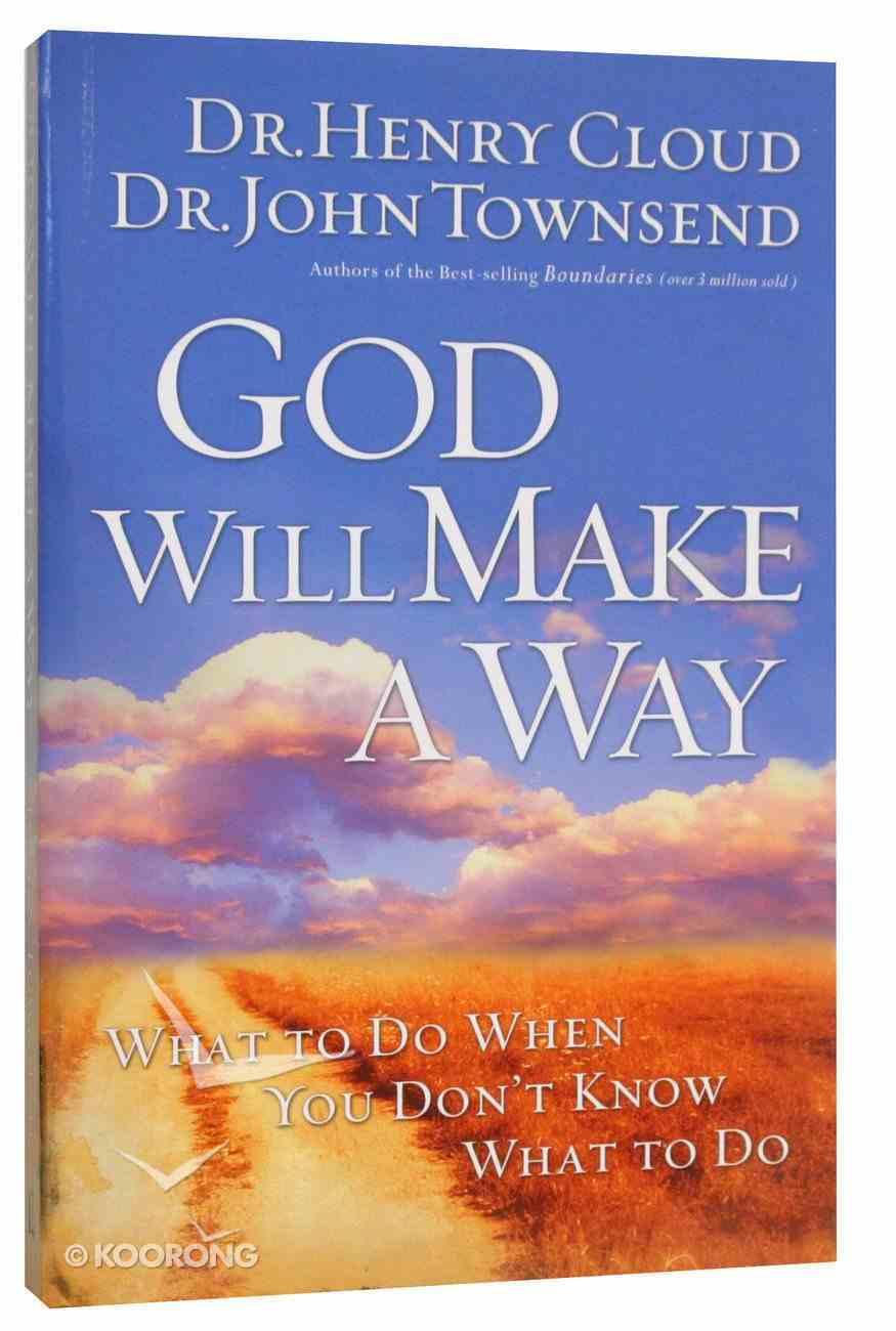God Will Make a Way Paperback