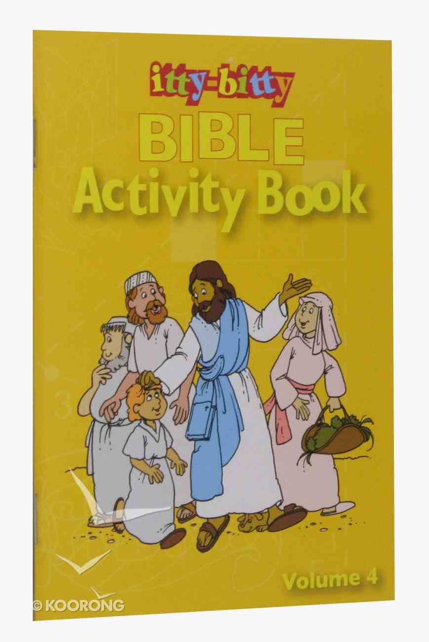 Activity Book (Volume 4) (#04 in Itty Bitty Bible Series) Paperback