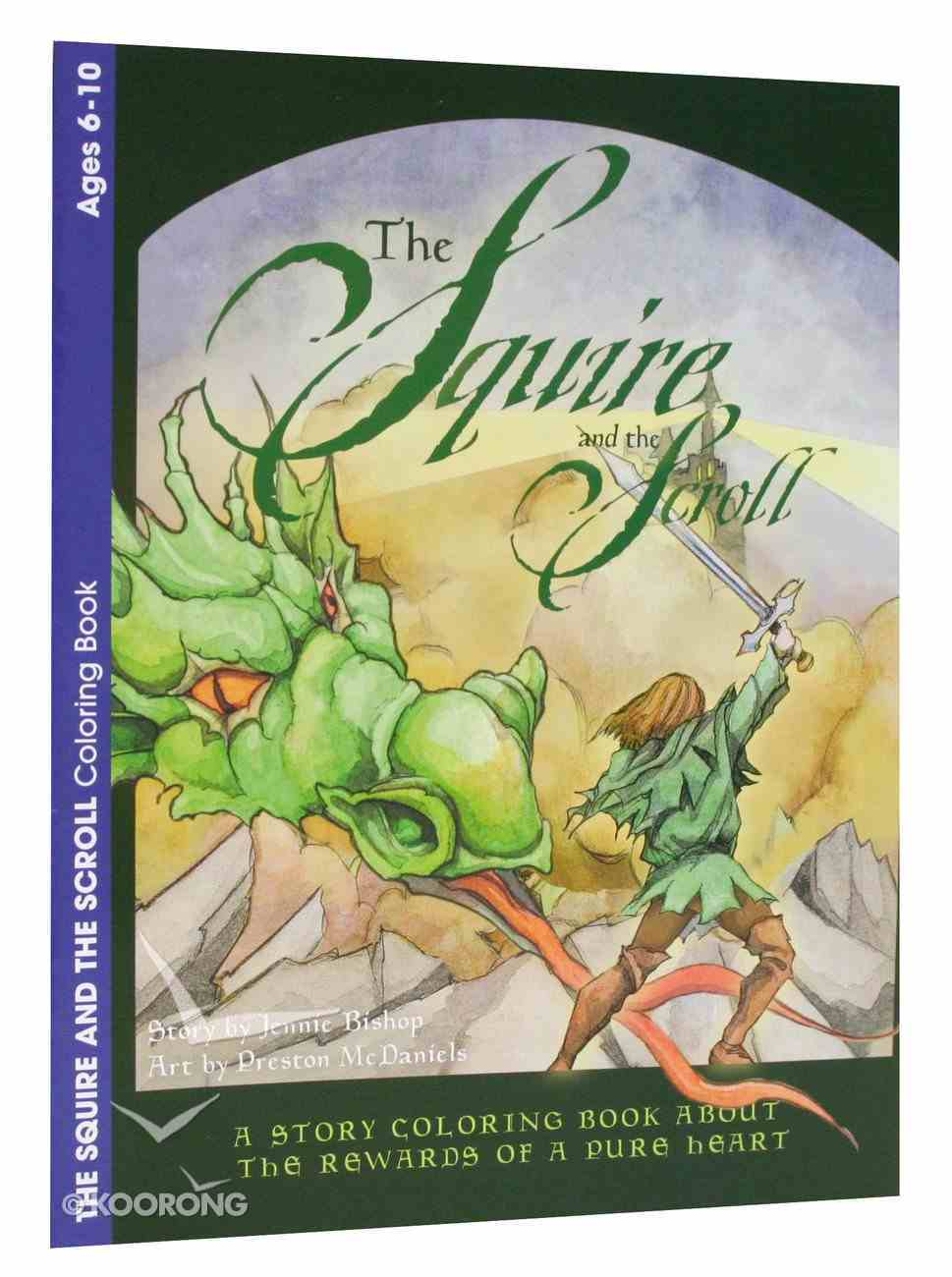The Squire and the Scroll (Ages 6-10, Reproducible) (Warner Press Colouring & Activity Books Series) Paperback