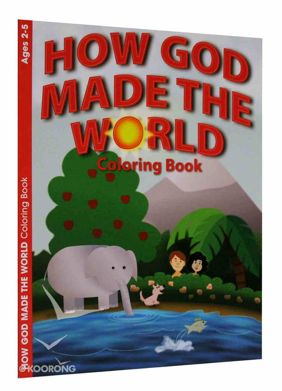 How God Made the World (Ages 2-5, Reproducible) (Warner Press Colouring/activity Under 5's Series) Paperback