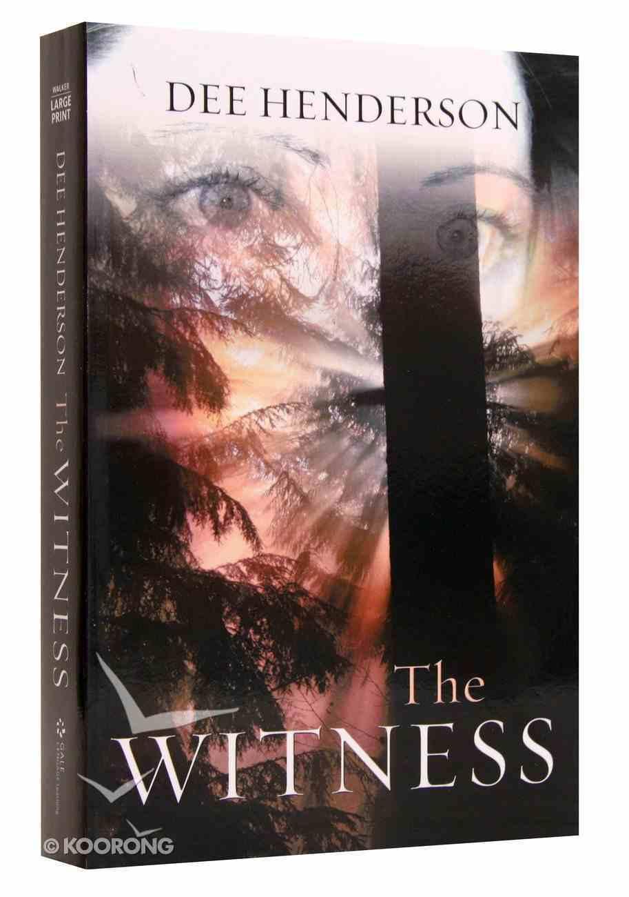 Witness (Large Print) Paperback