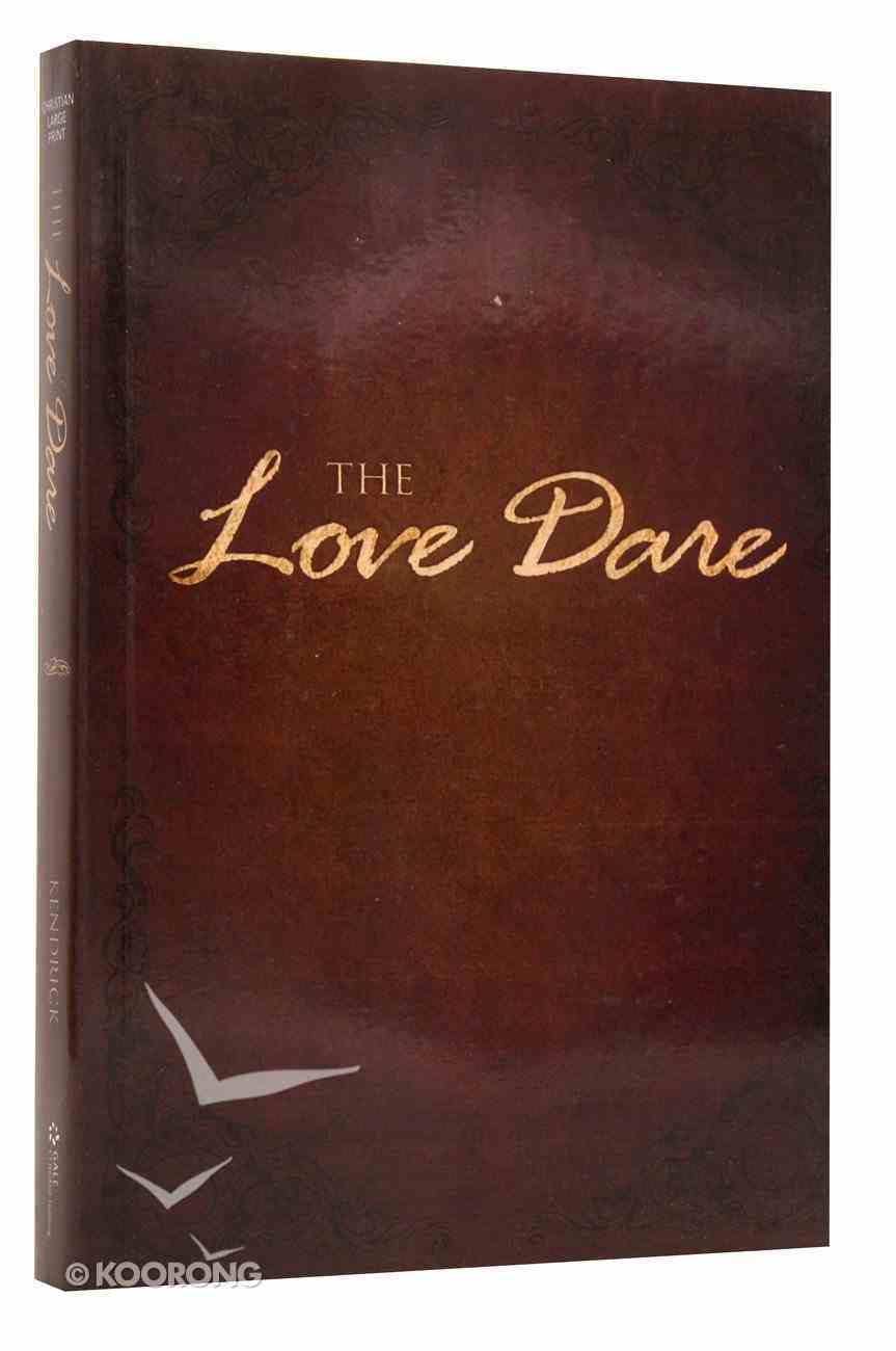 Love Dare (Large Print) Paperback
