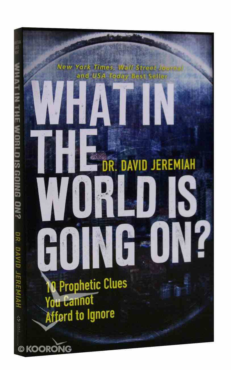 What in the World is Going On? (Large Print) Paperback
