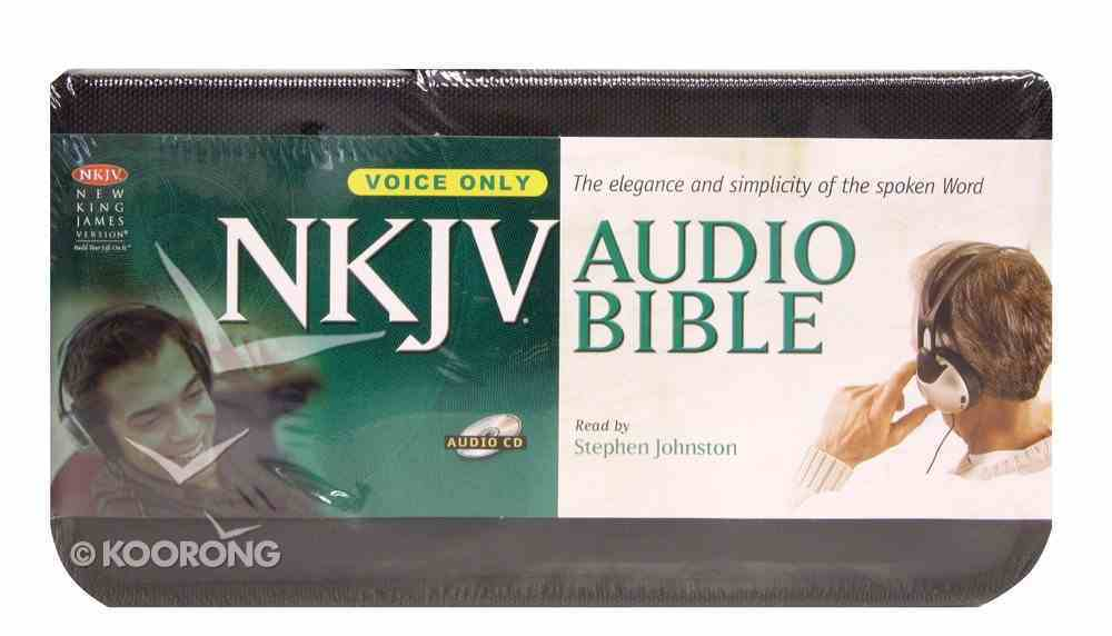 NKJV Audio Bible Voice Only (58 Cd In Case) CD