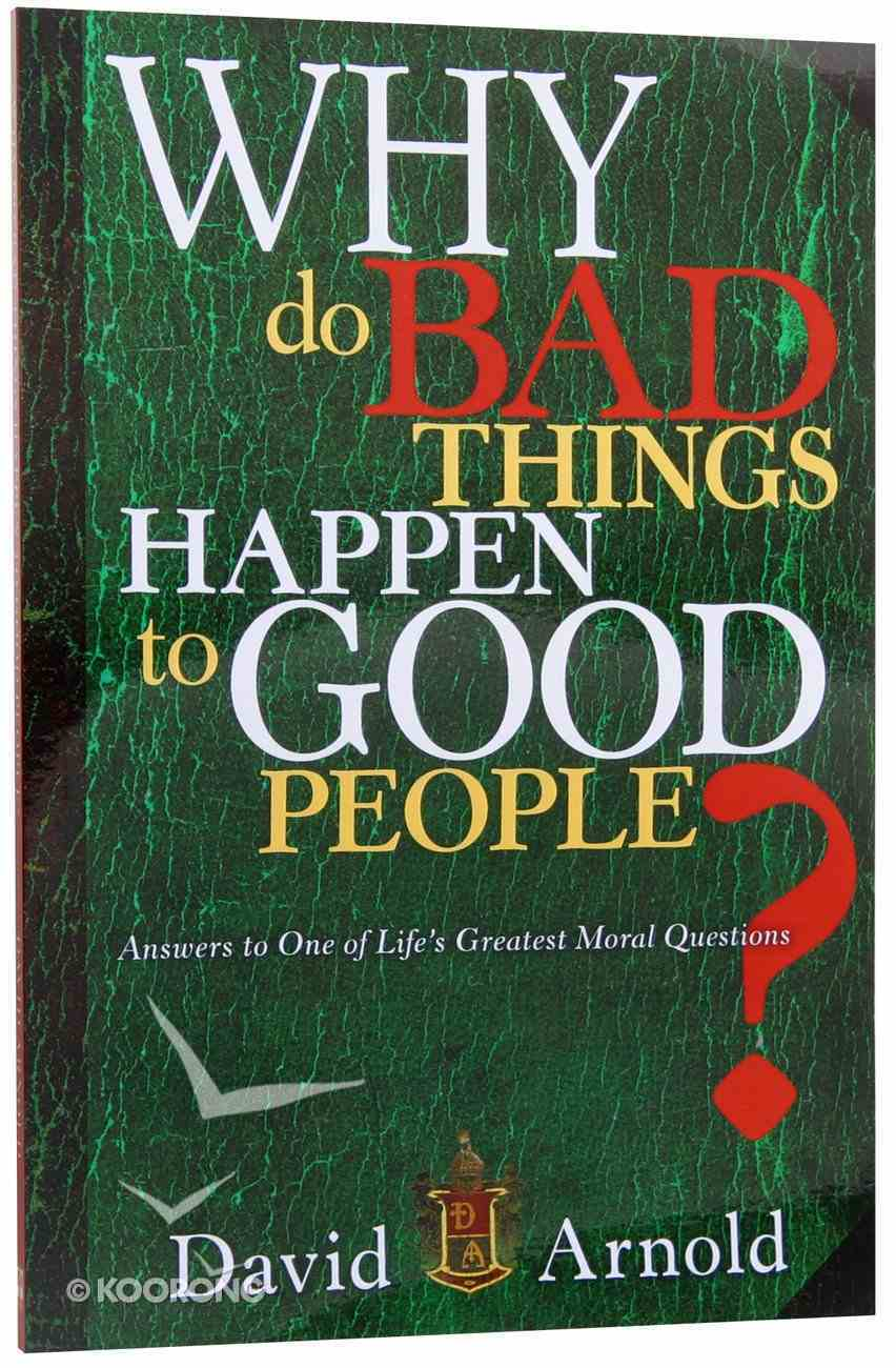 Why Do Bad Things Happen to Good People? Paperback