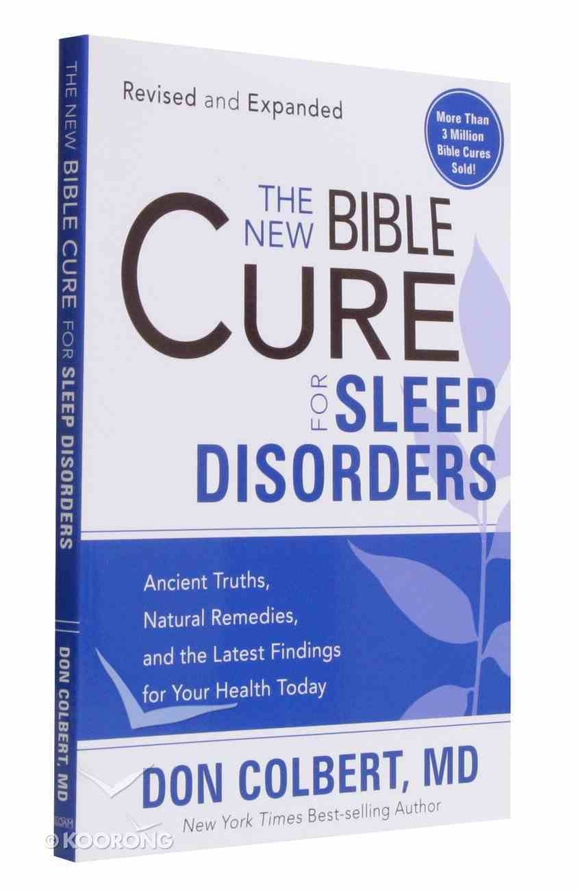The New Bible Cure For Sleep Disorders (The New Bible Cure Series) Paperback