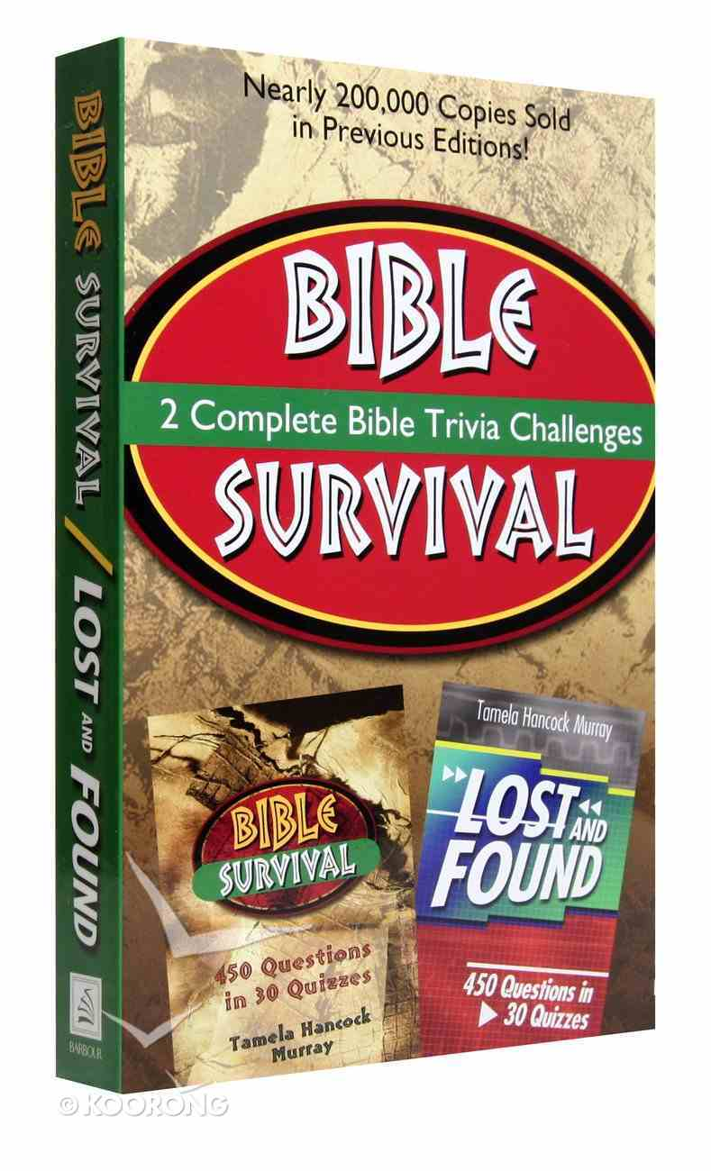 Bible Survival/Lost and Found Trivia Challenge (2 In 1) Paperback
