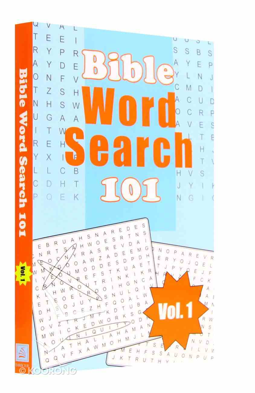 Bible Word Search 101 (V0l 1) Paperback