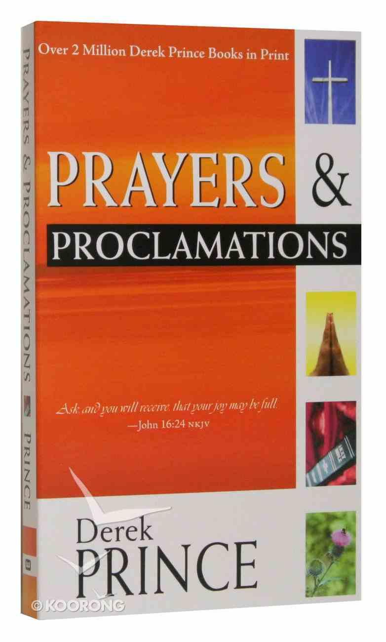 Prayers and Proclamations Mass Market