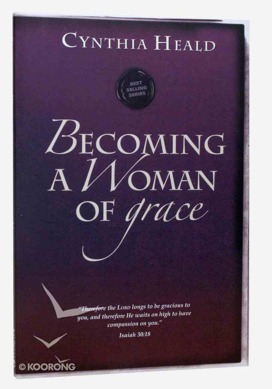 Becoming a Woman of Grace (Becoming A Woman Bible Studies Series) Paperback