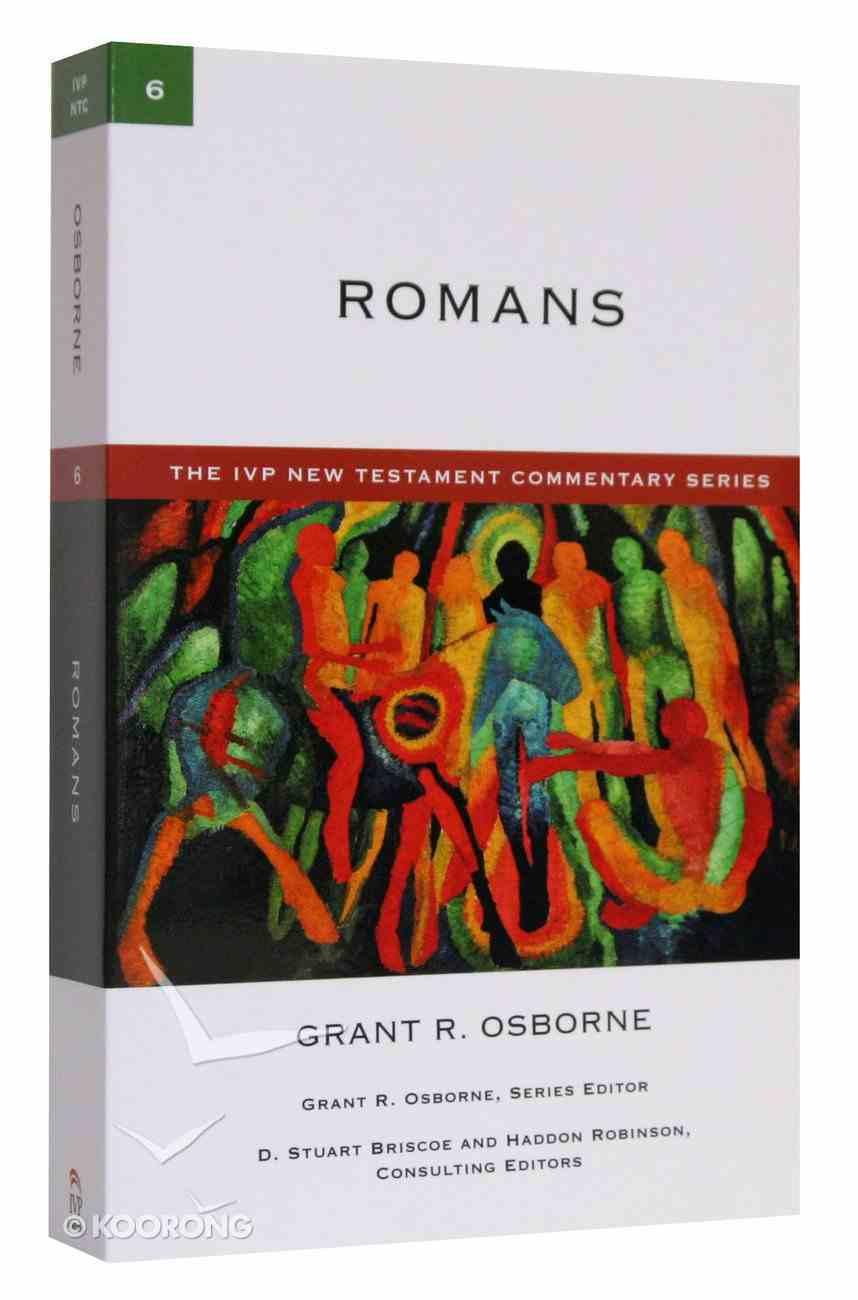 Ivp Ntc: Romans (Ivp New Testament Commentary Series) Paperback