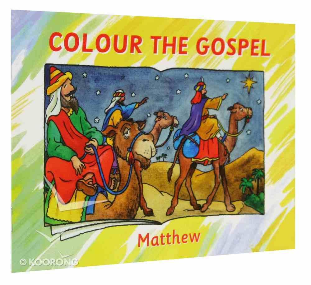 Matthew (Colour The Gospels Series) Paperback