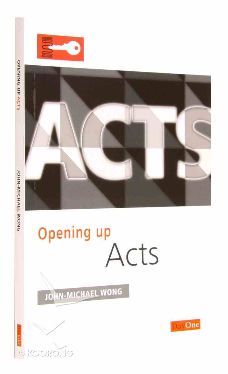 Acts (Opening Up Series) Paperback