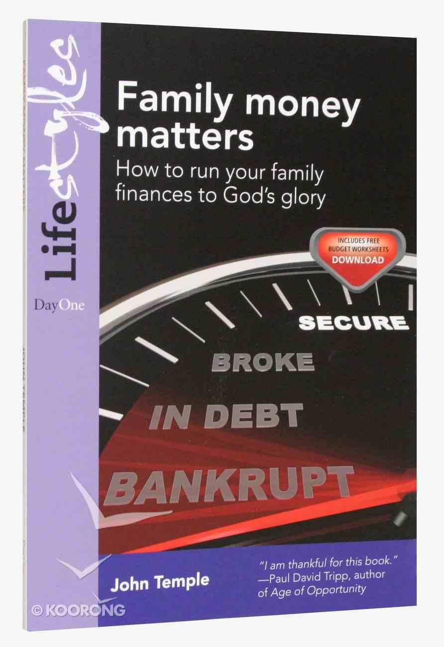 Family Money Matters Paperback