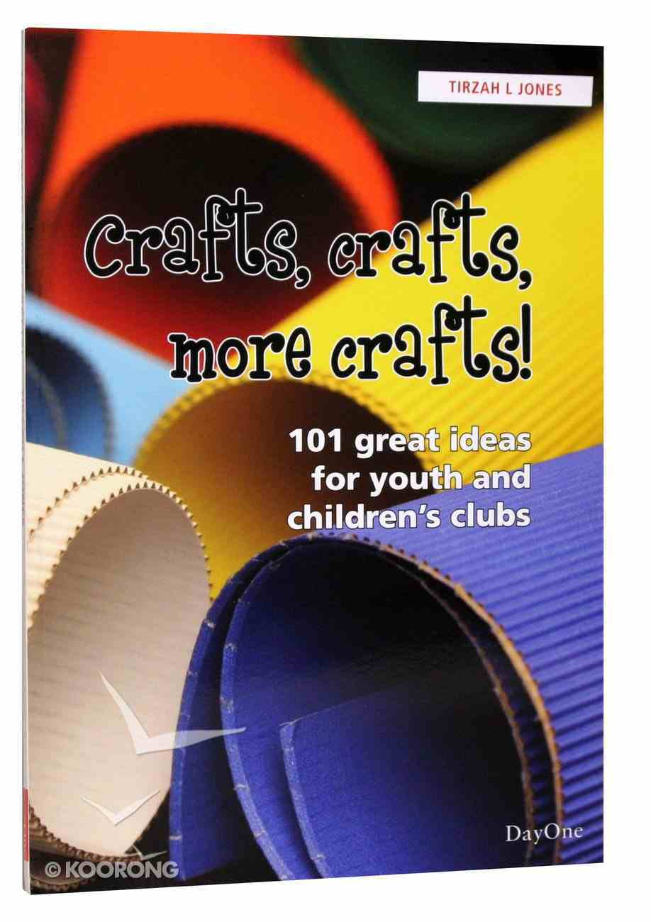 Crafts, Crafts, and More Crafts PB Large Format