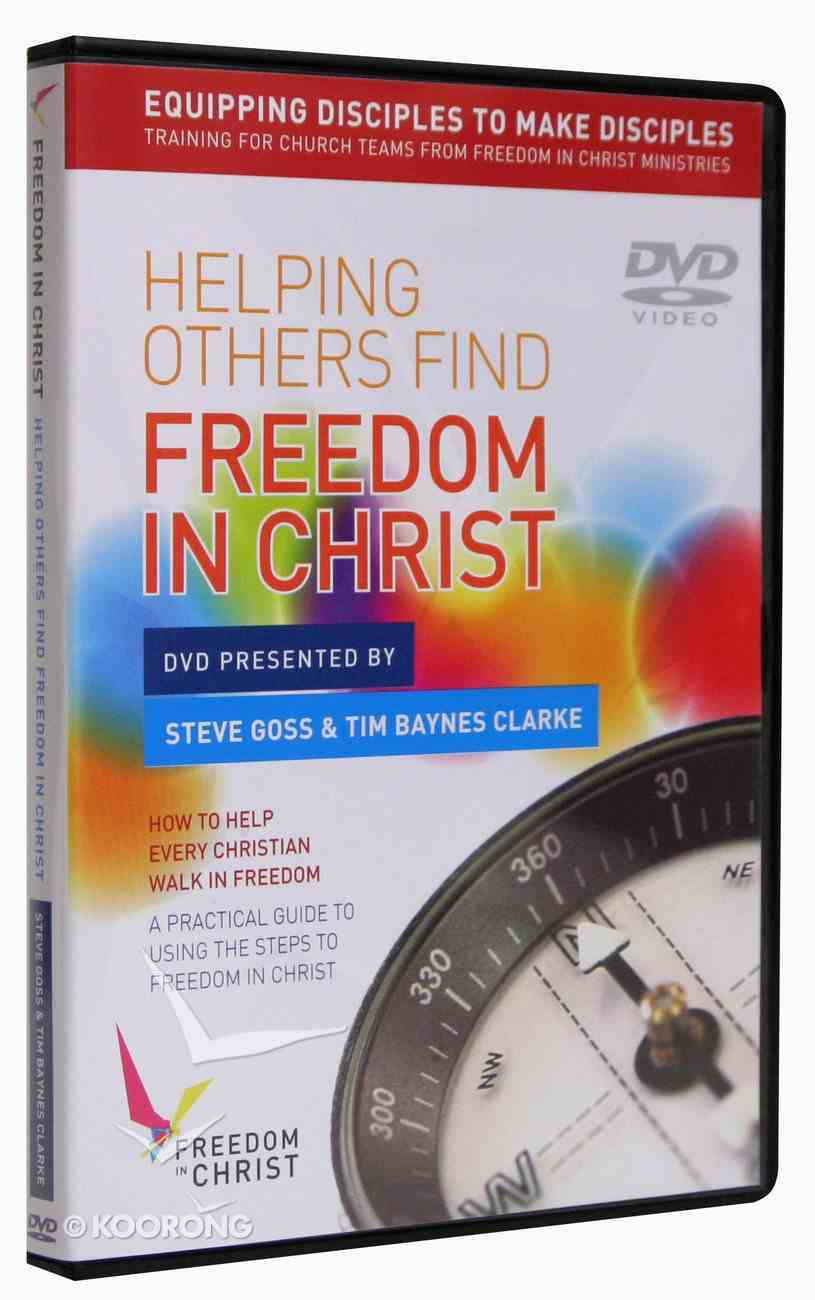 Helping Others Find Freedom in Christ DVD (Freedom In Christ Course) DVD