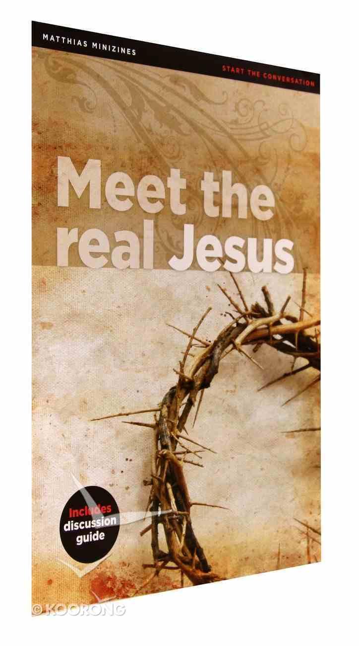 Meet the Real Jesus (Matthias Minizines Series) Magazine