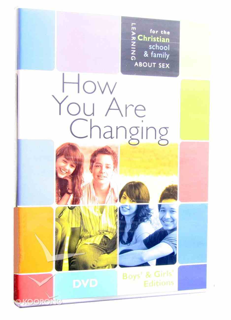 How You Are Changing (Boys and Girls Edition) (Learning About Sex Series) DVD