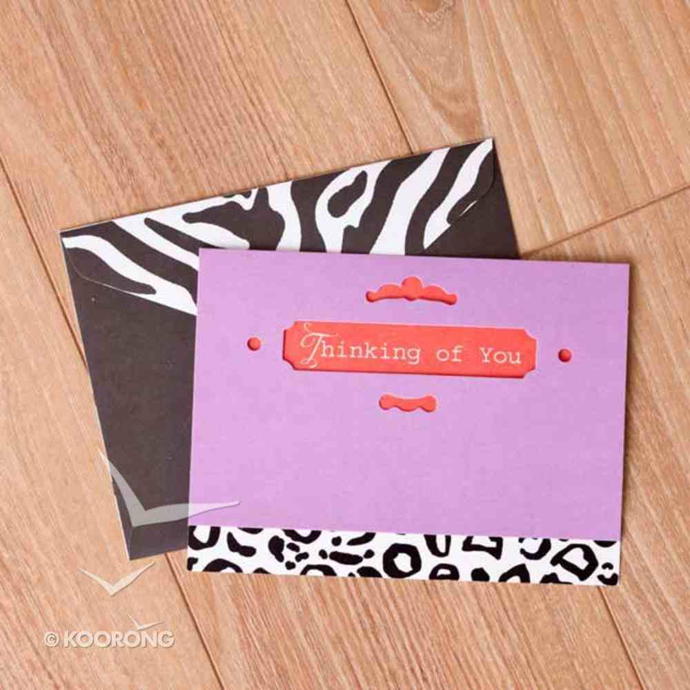 Sassy and Sophisticated: Note Cards, Thinking of You Cards