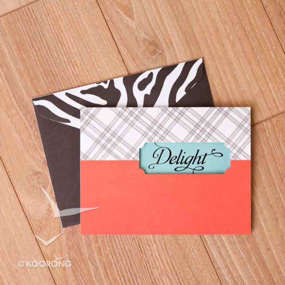 Sassy and Sophisticated: Note Cards, Blank Delight Cards
