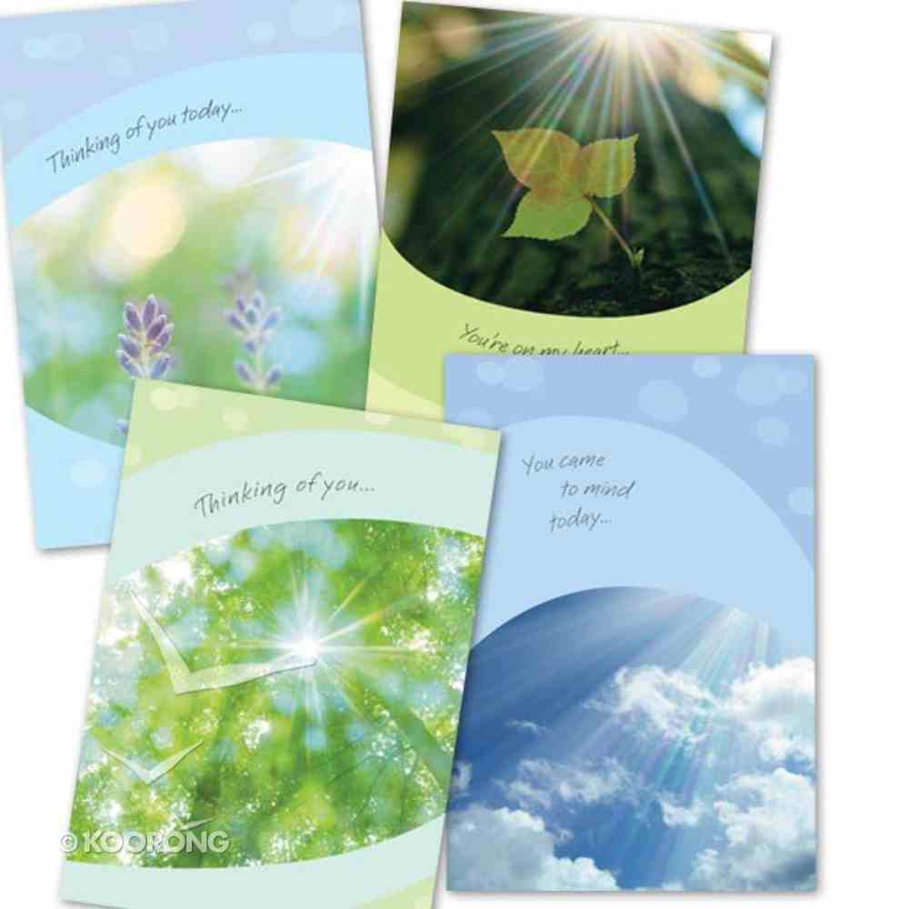 Boxed Cards Thinking of You: Sunny Sentiments Box