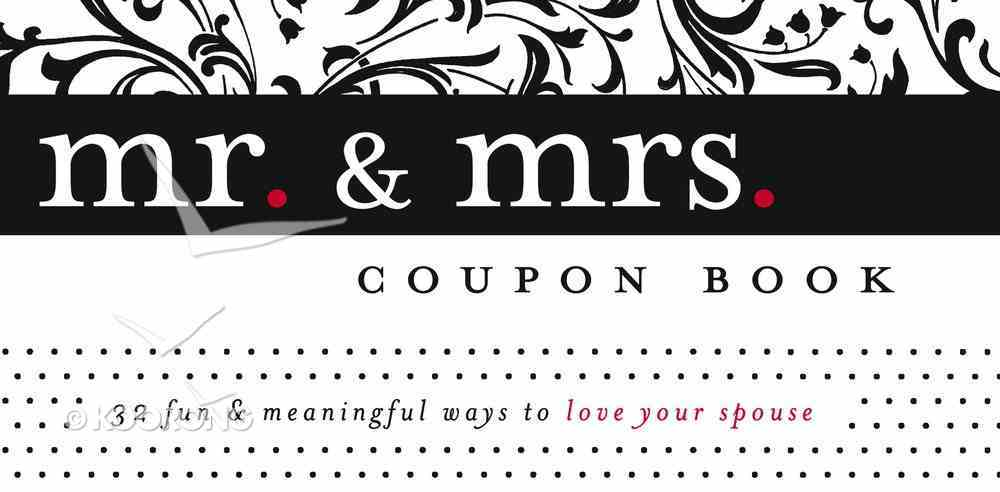 Mr & Mrs Coupon Book: 32 Fun & Meaningful Ways to Love Your Spouse Stationery